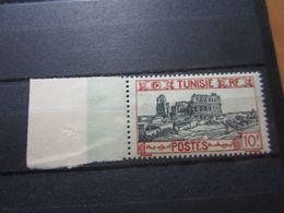 VEND BEAU TIMBRE DE TUNISIE N° 144 + BDF , XX !!! - Tunisie (1888-1955)