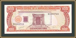 Dominicana 100 Pesos 1990 P-128 (128b) UNC - República Dominicana
