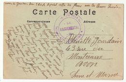 CPFM Hôpital Annexe Villa Des Fleurs Aix Les Bains Savoie - Guerre De 1914-18