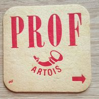 VIEUX  SOUS BOCKS BROUWERIJ ARTOIS LEUVEN PROF ARTOIS + VERSO EEN WONDER - Sous-bocks