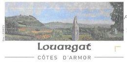 LOUARGAT COTE D ARMOR ( UN MENHIR ) PAP ENTIER POSTAL AYANT CIRCULE EN 2008, VOIR LES SCANNERS - Archéologie