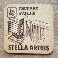 VIEUX  SOUS BOCKS BROUWERIJ ARTOIS LEUVEN STELLA ARTOIS EXPO 58 TAVERNE STELLA - Sous-bocks