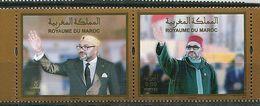 (lot 8) Maroc ** 20e Ann. De L'intronisation Du Roi   - Année 2019 - - Maroc (1956-...)