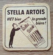 VIEUX  SOUS BOCKS BROUWERIJ ARTOIS LEUVEN STELLA ARTOIS HET BIER LA GRANDE BIERE -1 - Sous-bocks