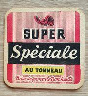 VIEUX  SOUS BOCKS BROUWERIJ ARTOIS LEUVEN SUPER SPECIALE AU TONNEAU - Sous-bocks