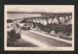 PLOUGASTEL DAOULAS  Pont A Péage Animé Societé Freyssinet  ( TTB état )  Y  U1209 - Plougastel-Daoulas