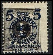 1916. Landstorm II. 5+Fem Öre On 1 Ö. Black.  (Michel 97) - JF362862 - Oblitérés