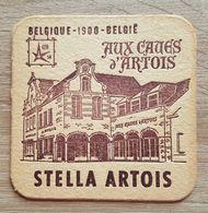 VIEUX  SOUS BOCKS BROUWERIJ ARTOIS LEUVEN STELLA ARTOIS EXPO 58 BELGIQUE - 1900 - BELGIE AUX CAVES D'ARTOIS - Sous-bocks