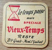 VIEUX  SOUS BOCKS BRASSERIE GRADE MONT SAINT GUIBERT SPECIALE VIEUX - TEMPS -1 - Sous-bocks