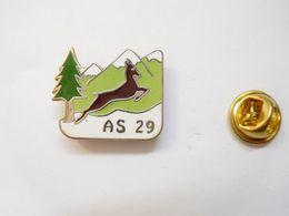 Beau Pin's En EGF , AS 29 , Chamois , Isard , Montagne , ATTENTION : Pin's Décoloré - Animals