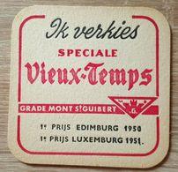 VIEUX  SOUS BOCKS BRASSERIE GRADE MONT SAINT GUIBERT SPECIALE VIEUX - TEMPS -2 (flamand) - Sous-bocks
