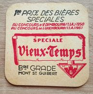 VIEUX  SOUS BOCKS BRASSERIE GRADE MONT SAINT GUIBERT SPECIALE VIEUX - TEMPS -3 - Sous-bocks