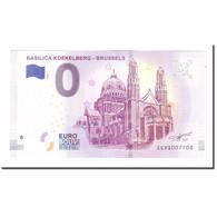Belgique, Billet Touristique - 0 Euro, Belgium - Brussels - Basilica Koekelberg - Belgique