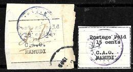 512 - SARAWAK - 1945 - MARUDI LOCAL ISSUE  - FORGERIES, FALSES, FALSCHEN, FAKES, FALSOS - Collezioni (senza Album)