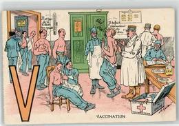 53192296 - Sign. Gaillard, A. Impfung - Humour