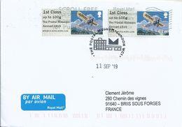 Vignette D'affranchissement IAR - ATM - Post & Go - Poste Aérienne - Avion Blériot - Airplanes