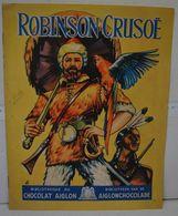 Liv. 376. Album Vide De Robinson Crusoë. Chocolat Aiglon - Aiglon