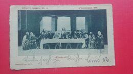 Passionsspiele 1900.Obermmergau.Abendmahl - Espectáculo