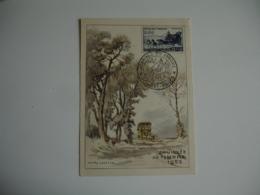 1952 C M Carte Maximum Sidi Bel Abbes Journee Timbre - Maximumkaarten
