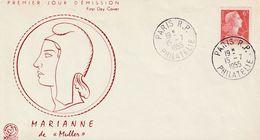 Paris 1955 Marianne De Muller - FDC