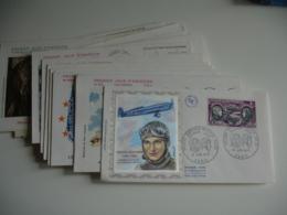 Lot De 23 Fdc Enveloppe 1 Er Jour Annee 70 Dant Poste Aerienne - FDC
