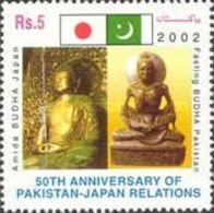 MNH STAMPS Pakistan - The 50th Anni Of Estab Of Diplomatic Relation Pak & Japan  - 2003 - Pakistan
