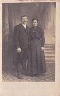 CARTE PHOTO -  COUPLE  PRIS EN STUDIO - Fotografía