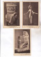 31 CARTES NON POSTALES ANCIENNES  EGYPTE - Egypt