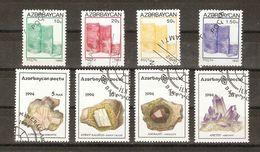 Azerbaïdjan - Monuments, Minéraux - Petit Lot De 2 Séries Courantes° - 83/86 - 136/9 - Azerbaïdjan