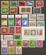Allemagne Fédérale 1969 - Année Complète MNH - 441/474 - BF 4 - Sellos