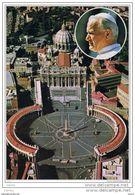CITTA'  DEL  VATICANO:  VEDUTA  AEREA  -  PER  LA  SVIZZERA  -  FG - Vatican
