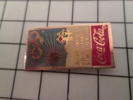 415a Pin's Pins / Rare & Belle Qualité !!! THEME : JEUX OLYMPIQUES / COCA-COLA ST MORITZ 1948 - Olympic Games
