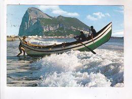 CPM EL PENON DE GIBRALTAR (voir Timbre) - Gibraltar