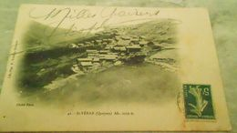5CARTE DE ST VERANN° DE CASIER 1384 TTCIRCULEMILLES BAISERS  EFFACE - Andere Gemeenten