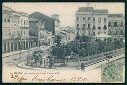 PERNAMBUCO - RECIFE - Praça Conde D'Eu.  Carte Postale - Recife