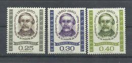 VENEZUELA  YVERT  AEREO  736/38  MNH  ** - Venezuela