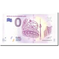 Allemagne, Billet Touristique - 0 Euro, Germany - Berlin - Alexanderplatz - - Allemagne