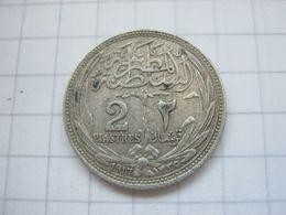 Egypt , 2 Piastres 1917 - Egypte