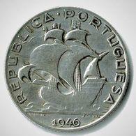 PORTUGAL / 2 1/2 ESCUDOS / 1946 / TTB + - Portugal