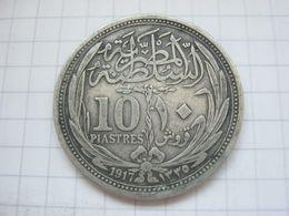 Egypt , 10 Piastres 1917 - Egypte
