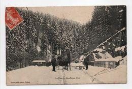 - CPA VOSGES (88) - Le Pont Du Gouffre En Hiver 1913 - Photo-Edition Notter - - France