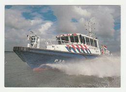 Ansichtkaart-postcard Waterpolitie P31 - Polizei