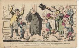 ANTICLERICALISME-JOURNAL LA LANTERNE-POLITIQUE-ILLUSTRATEUR  LAVRATE-SEPARATION EGLISES ETAT-CARICATURE SATIRIQUE - Satiriques