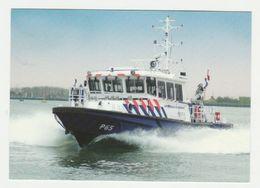 Ansichtkaart-postcard Waterpolitie P65 - Polizei