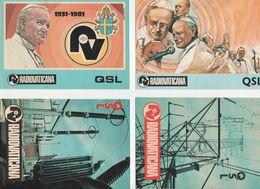 QSL CB Radio Amateur Vatican Rome - CB