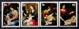 Niue 1984 Yvert 458-61, Christmas, Paintings Virgin & Child - MNH - Niue