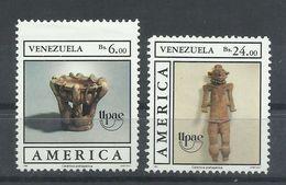 VENEZUELA  YVERT  1459/60  MNH  ** - Venezuela