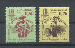 VENEZUELA  YVERT  AEREO  784/85    MNH  ** - Venezuela