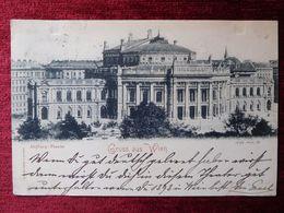 AUSTRIA / WIEN - VIENNA 8./ 1897 (AB31) - Vienna Center