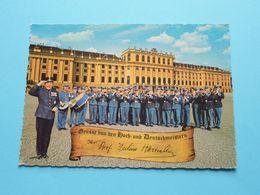 MILITARY BAND & Master Julius Herrmann > Schönbrunn ( Mapa / Wien ) Anno 19?? ( Zie/voir Photo ) Austria ! - Château De Schönbrunn